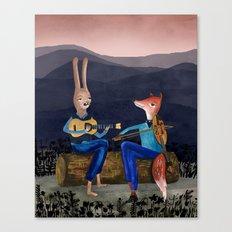 Smoky Mountain Gypsy Jazz Canvas Print