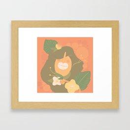 FemFlora Tropical Framed Art Print