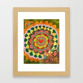 Feral Heart #01 Framed Art Print