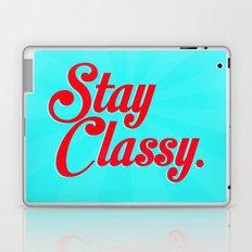 Stay classy. Laptop & iPad Skin