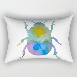 Beetle Scarabaeus Rectangular Pillow