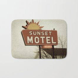 Sunset Motel Bath Mat