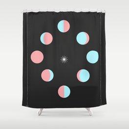 Mystique - Moons Shower Curtain