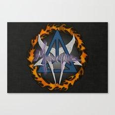 Mudvayne Logos Canvas Print