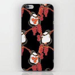 Birds in the Berries iPhone Skin