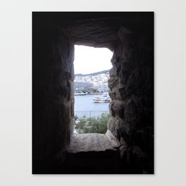 from inside Canvas Print