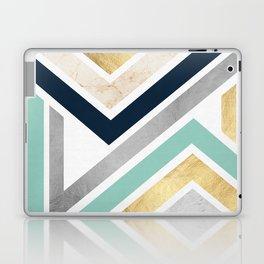 Pattern zig zag textures Laptop & iPad Skin