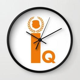 Iq Wall Clock