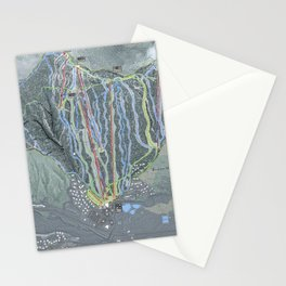 Bretton Woods Resort Trail Map Stationery Cards