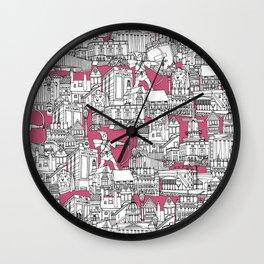 NOTTINGHAM BUBBLEGUM Wall Clock