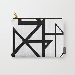 Black & White Minimal Design Nr. 2 Carry-All Pouch