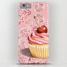 Pink Cupcake Paisley Bandana Slim Case iPhone 6s Plus