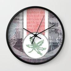 The Buckeye State Wall Clock
