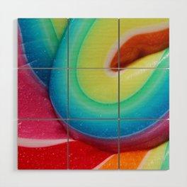 Lollipop, Lollipop - Pink edition Wood Wall Art