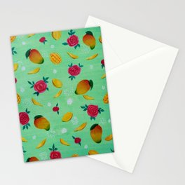 Mangos and Roses Art Stationery Cards