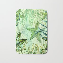 sea stars Bath Mat