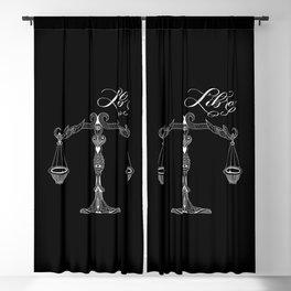 Libra (Dark) Blackout Curtain