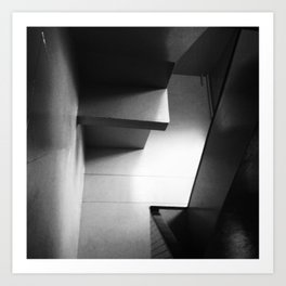 #88Photo #99 #Abstract #Light #BlackAndWhite Art Print
