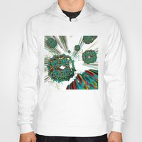cyberpunk Hoodies featuring Coral Reef by Obvious Warrior