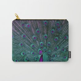 BLOOMING PEACOCK Carry-All Pouch