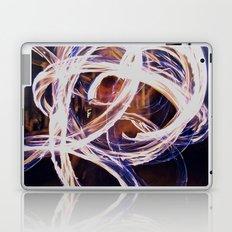 Fire Poi Laptop & iPad Skin