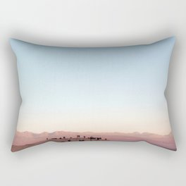 People Watching in the Moon Valley, Chile Rectangular Pillow