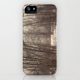 Bare Woods iPhone Case