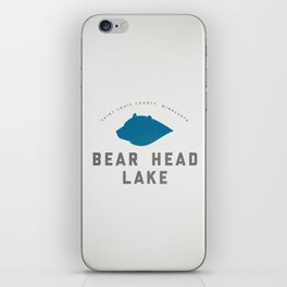 Bear Head Lake iPhone Skin