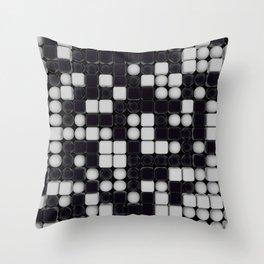 B&W Pattern III Throw Pillow