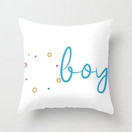 Science Boy Science Boy Throw Pillow