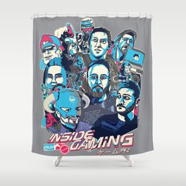 Inside Gaming Shower Curtain