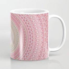 Gold Rose and Blush Boho Mandala Coffee Mug