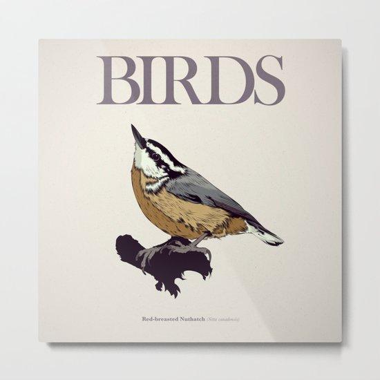 BIRDS 01 Metal Print