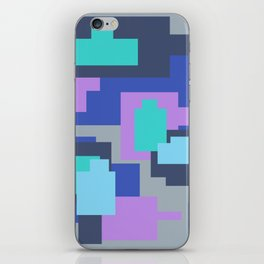 Grey camou iPhone Skin