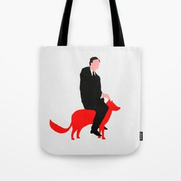 The story about me and the fox Tote Bag