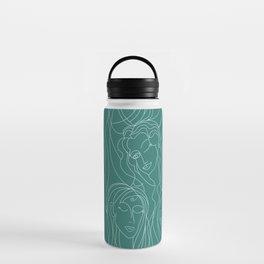 Green Ladies Water Bottle
