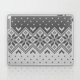 Winter knitted pattern 8 Laptop & iPad Skin