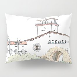 Santa Barbara County Courthouse Pillow Sham