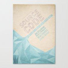 Source Code - minimal poster Canvas Print
