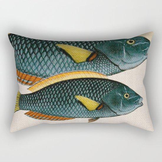 Fish Classic Designs 10 Rectangular Pillow