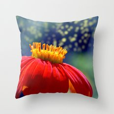 The Dance of the Pollen Throw Pillow