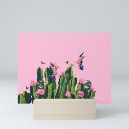 the Succulent Cactus Mini Art Print
