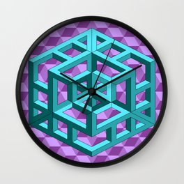 impossible patterns Wall Clock