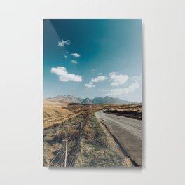 Longest Road 2 Metal Print
