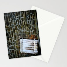 cottage door Stationery Cards