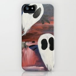Anxious Ghosties iPhone Case