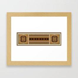 The gilded era Framed Art Print