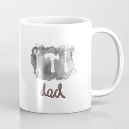 DAD TOOLS - BLACK AND WHITE Coffee Mug