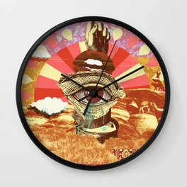 AFTERNOON PSYCHEDELIA REDUX Wall Clock