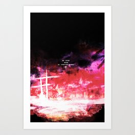 God's in his heaven Art Print